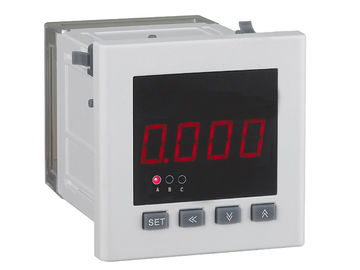 Vertical Installation DC Digital Voltmeter Panel Meter Low Power Consumption